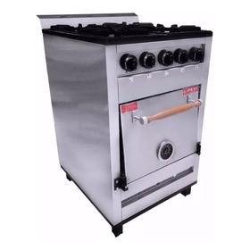 Cocina Industrial Pevi 4 Hornallas 55 Cm H Pizzero Ahora 12