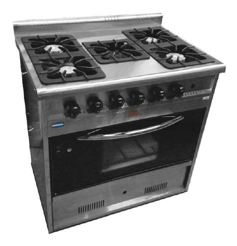 cocina industrial tecnocalor 5 h horno pizzero puerta visor