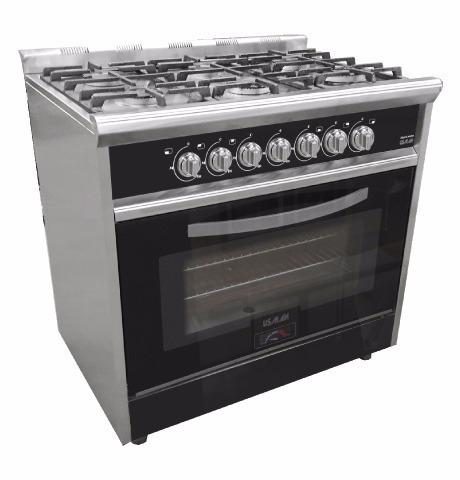 Cocina Industrial Usman 7020 Black Night 900 29 780 00 En
