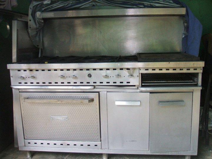 Cocina industrial y equipos mesones campana ba o de - Campana cocina industrial ...