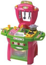cocina infantil con horno agua luz sonidos maxi chef rondi