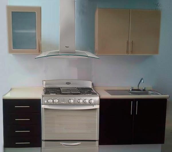 cocina integral gabinetes alacenas cubierta formaica