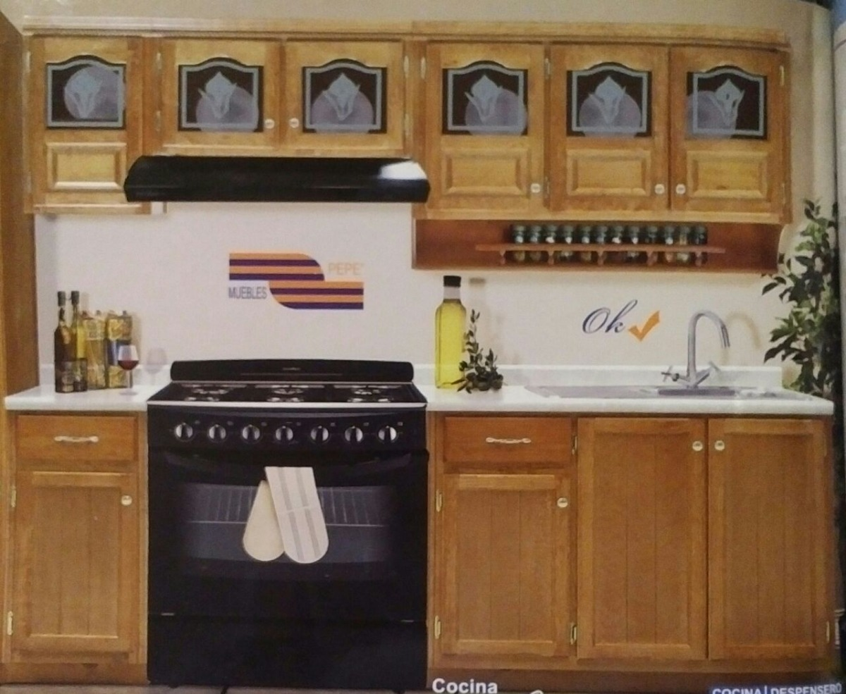 Cocina integral completa campana estufa horno incluidos for Ofertas cocinas completas