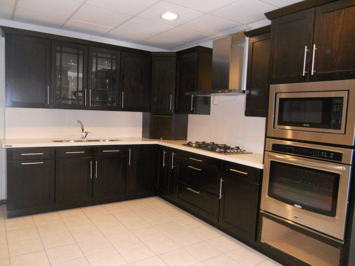 Gabinetes de cocina peque a sencillos ideas for Gabinetes cocina integral