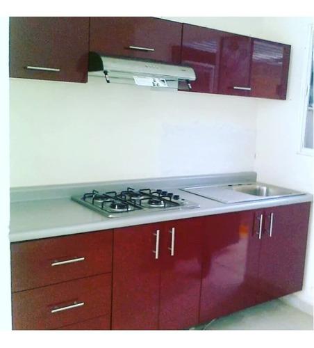 cocina integral, incluye campana,estufa y fregadero $12,499