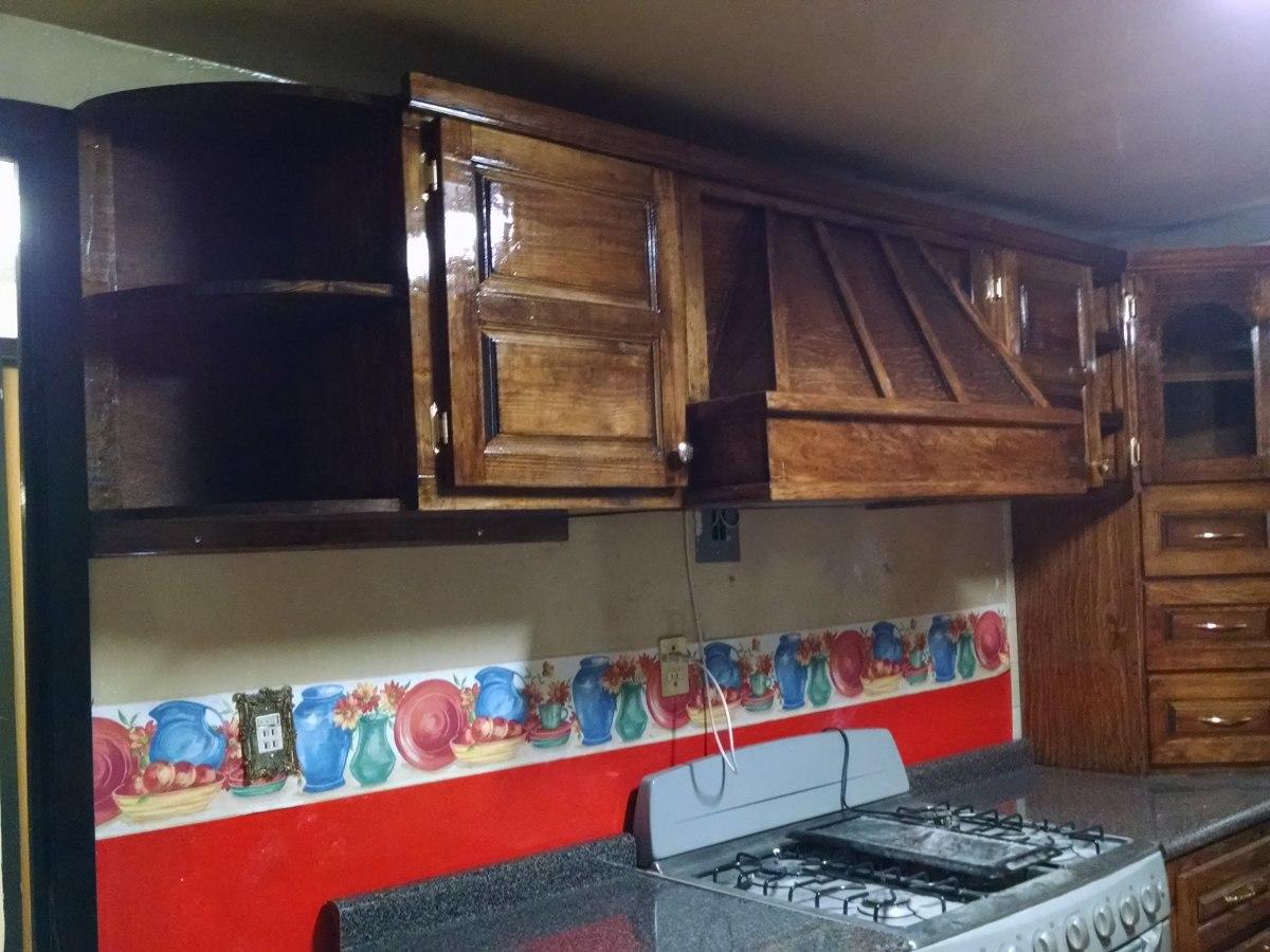 Cocina color p 250 rpura 7 - Cocina Integral Madera Escuadra Dise O Residencial A Medida
