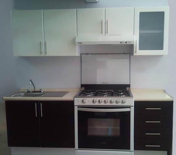 Cocina integral minimalista gabinetes alacena for Gabinetes cocina integral