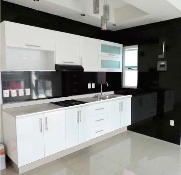 cocina integral minimalista 3m gabinetes alacenas cubierta