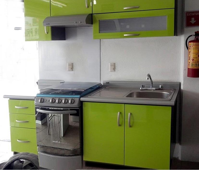 Cocina Integral Minimalista Mod Angola Para Estufa