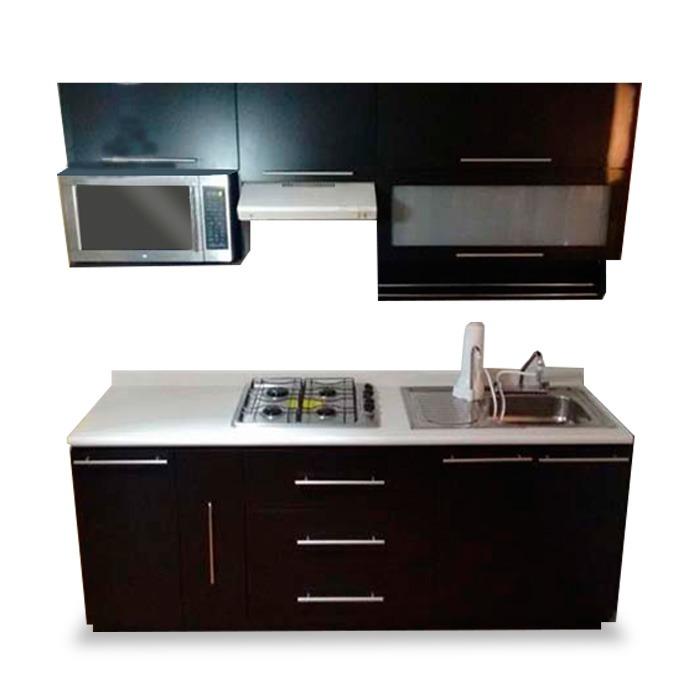 Cocina integral minimalista mod copenhague de parrilla 2 for Como decorar mi cocina integral