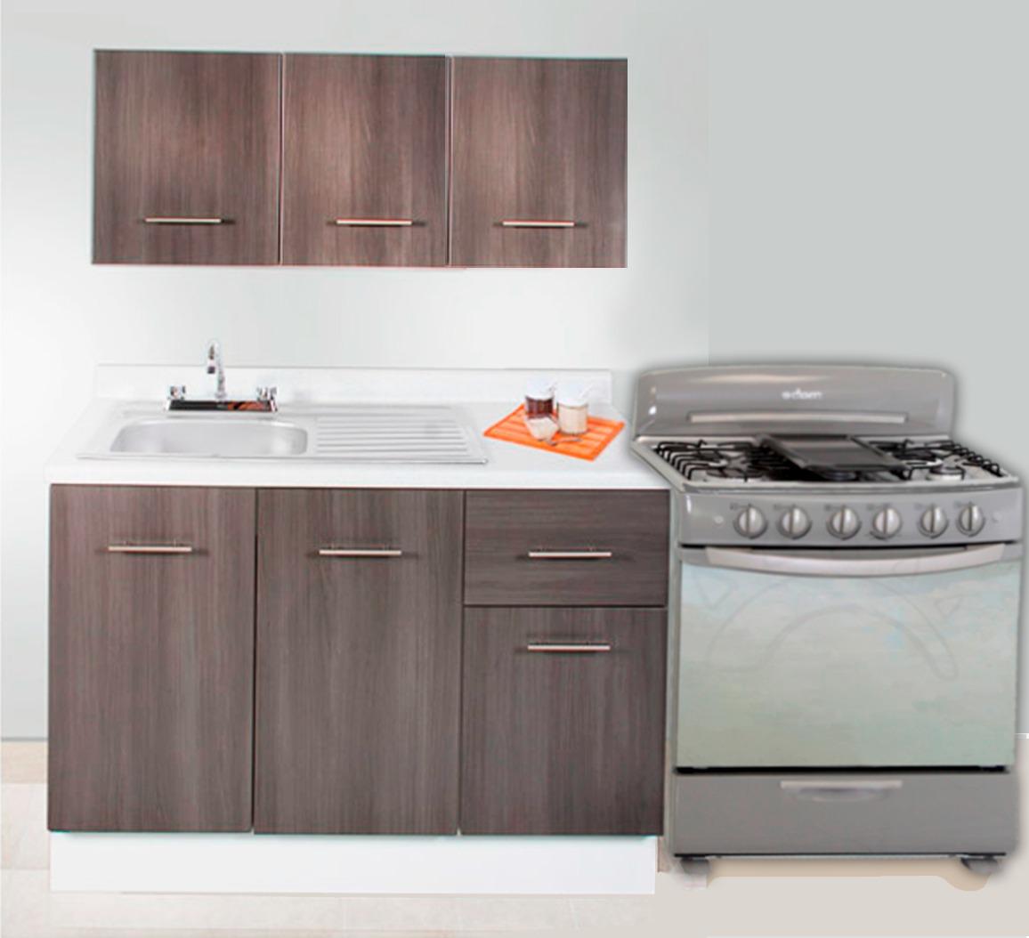 Cocina integral minimalista mod hamburgo para estufa 2m for Cocina integral