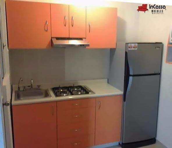 Cocina integral minimalista mod madagascar de parrilla 1 for Cocinas integrales por modulos