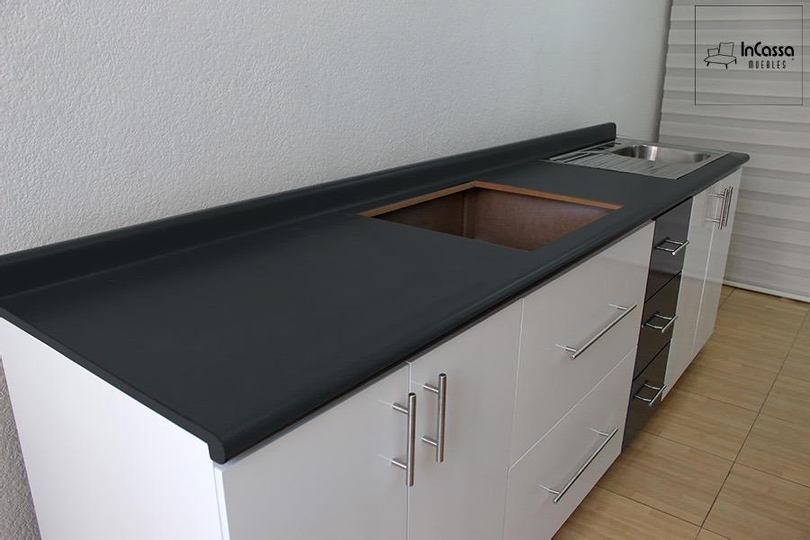 Cocina Integral Minimalista Mod Tenerife Para Parrilla 2 70m