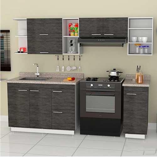 Cocina integral minimalista mod valence para estufa for Cocina integral con estufa
