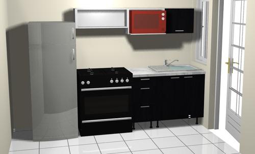 cocina integral modelo  dos