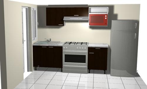 cocina integral modelo  tres