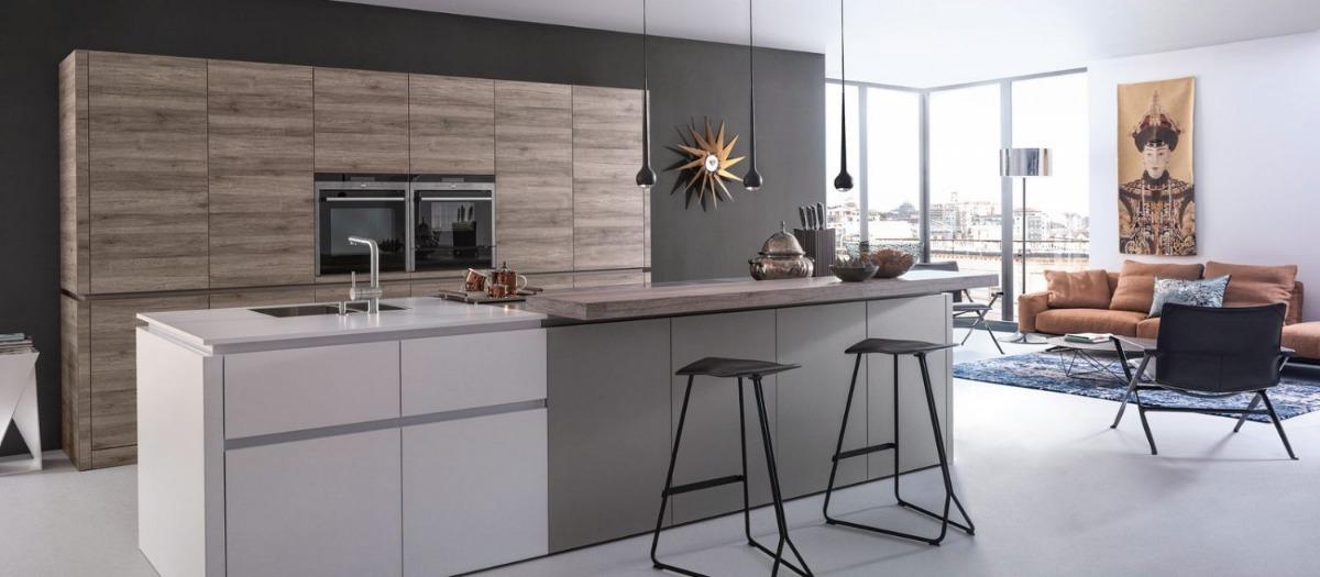 Cocina Integral Sobre Diseño (1/2 Metro Lineal)calidad A.a.a ...