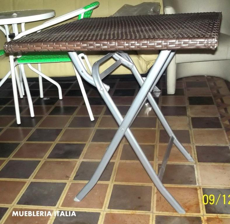 Mesa plegable desayunador cocina comedor jardin camping for Desayunador cocina comedor