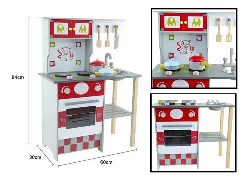 cocina juguete de madera msn17062
