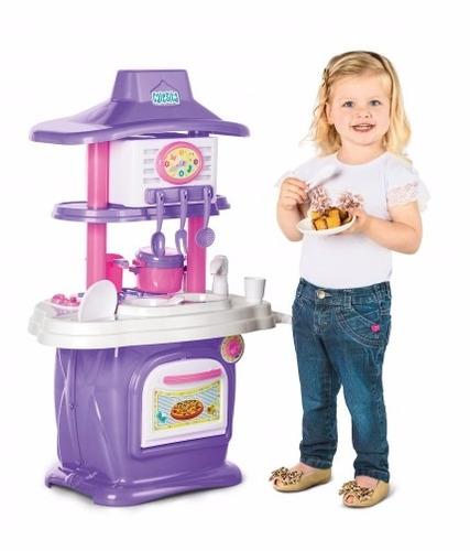 cocina juguete le grand chef con agua y sonido - 2 lados