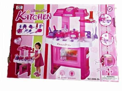 Sva Kitchen Niña Horno Set Grande Cocina Juguete Con WED92IeYH