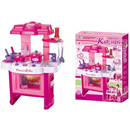 cocina juguete para niña,bebe,ollas,lavaplatos,cubiertos.