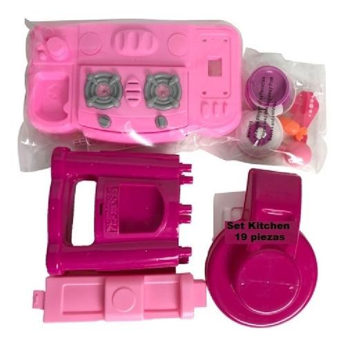 cocina juguete para niñas con luz y sonido accesorios regalo