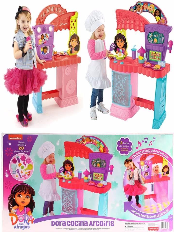 Cocina karaoke dora la exploradora arcoiris remate 50 - Dora la exploradora cocina ...
