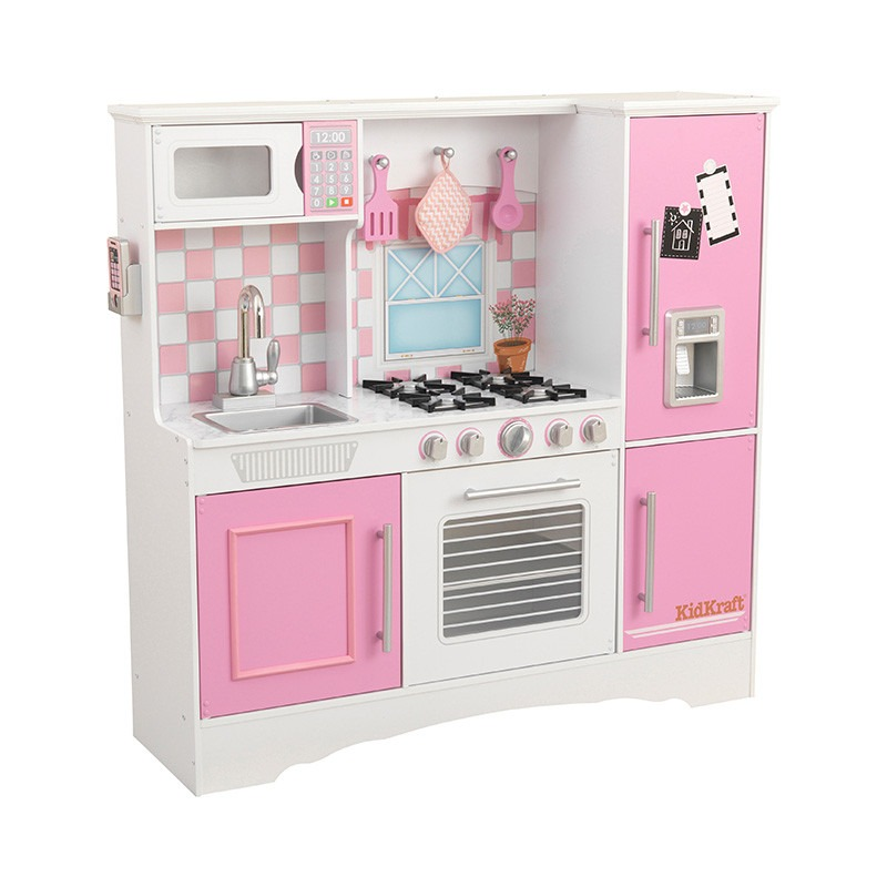 Cocina kidkraft cocinita de juguete para ni as rosa - Casitas de juguete para ninas ...