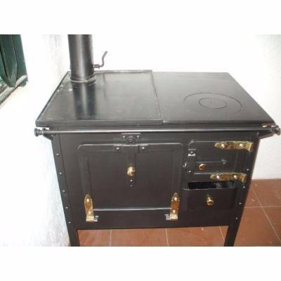 Cocina le a artesencalor rendimiento horno vidrio forzado - Cocinas con horno de lena ...
