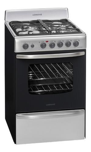cocina longvie 19501x acero 56cm grill encendido selectogar6