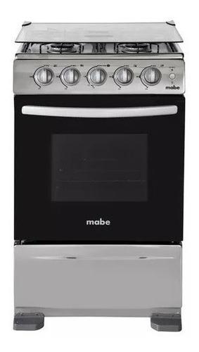 cocina mabe 4 q inox encendido electrico con horno