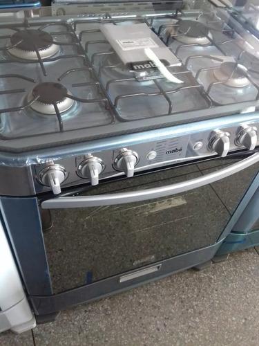 cocina mabe 5 hornillas doble horno oferta