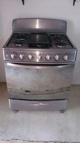 Cocina 6 hornillas mabe