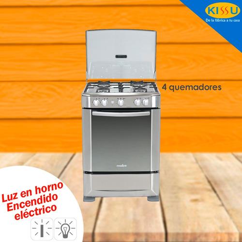 cocina mabe a gas 4 q. grill 60 cm encend electrico 6060ex1