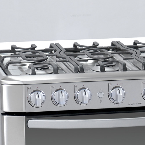 cocina mabe a gas 6 quemadores grill