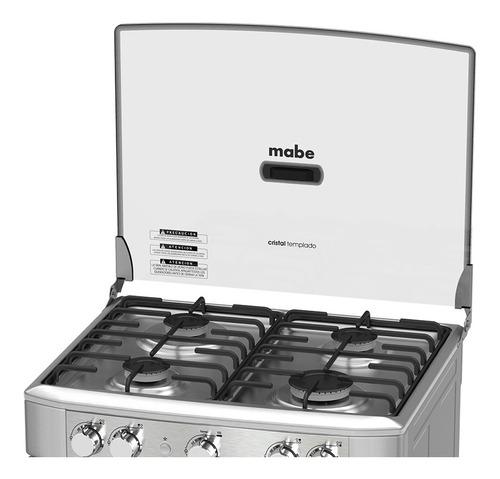 cocina mabe a gas 60 cm 4 quemadores em6020sg0 croma