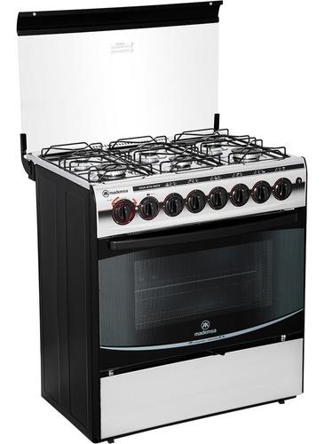cocina mademsa 6 platos diva 870 inox nueva
