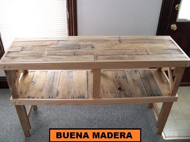 Isla de cocina, madera desayunador, rustica // buena madera ...