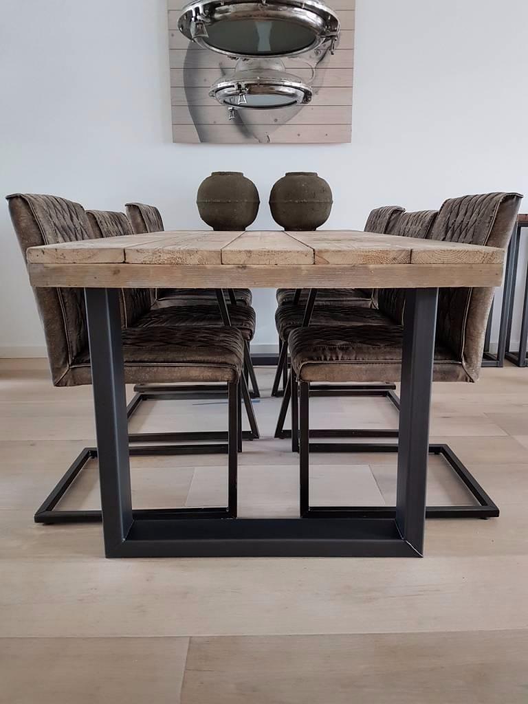 cocina madera mesa