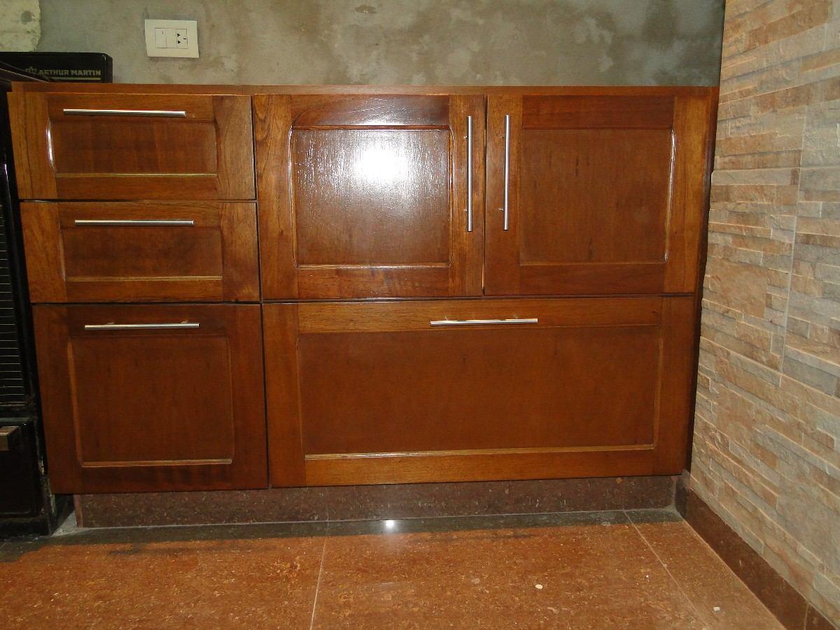 Muebles de cocina en madera muebles cocina todo madera for Muebles cool