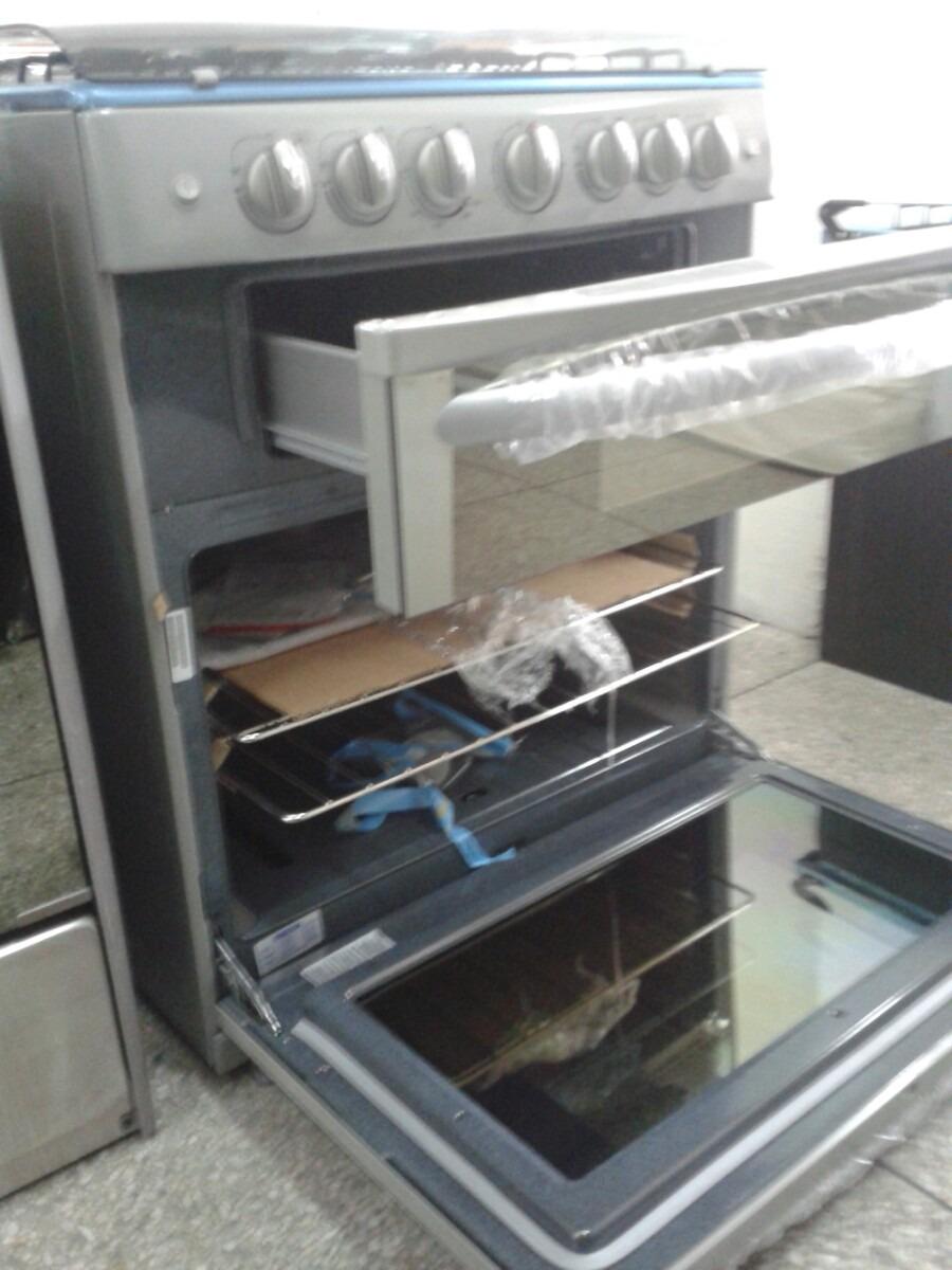 Cocina marca mabe de lujo doble horno nueva leer for Cocinas a gas nuevas