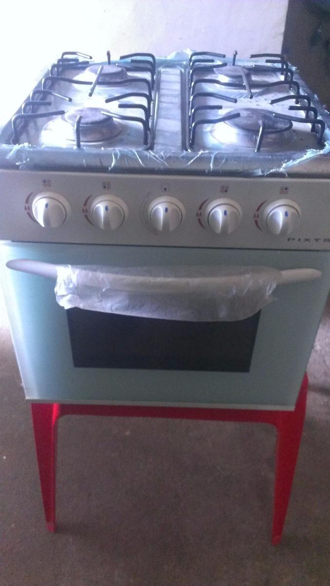 Cocina Marca Pixys A Gas Con 4 Hornillas Y Horno Peque A Bs  # Muebles De Cocina Pixys