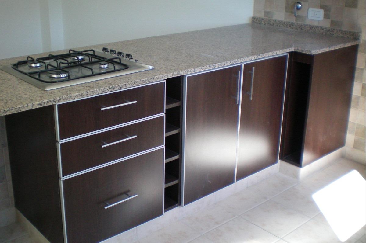 Muebles De Cocina  Bajo Mesada De 100 En Melamina  $ 4000,00 en