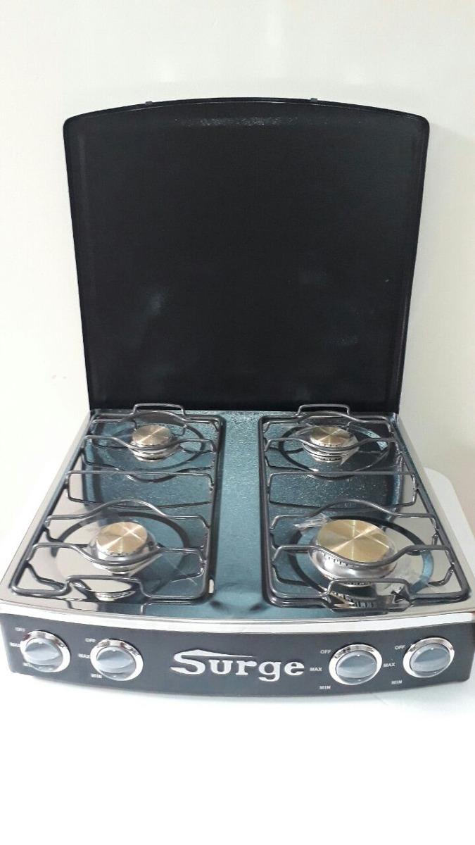 Cocina Mesa 4 Hornillas Gas Surge Nueva Garantia - S/ 165,00 en ...