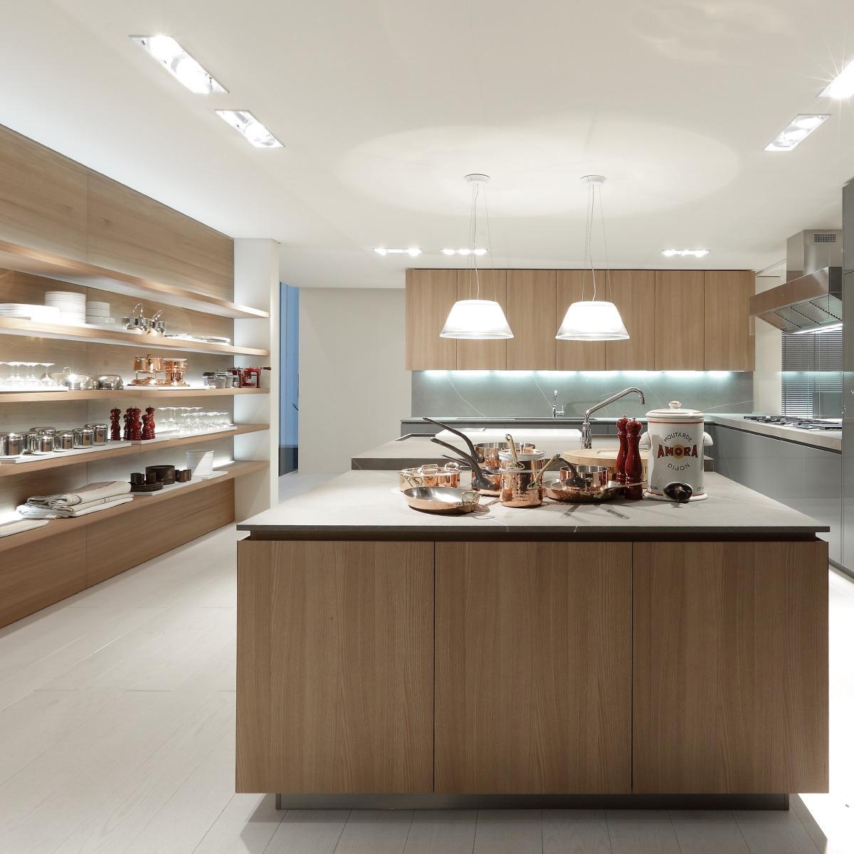 Cocina Minimalista / Muebles De Cocina / Diseño Italiano /m1 ...