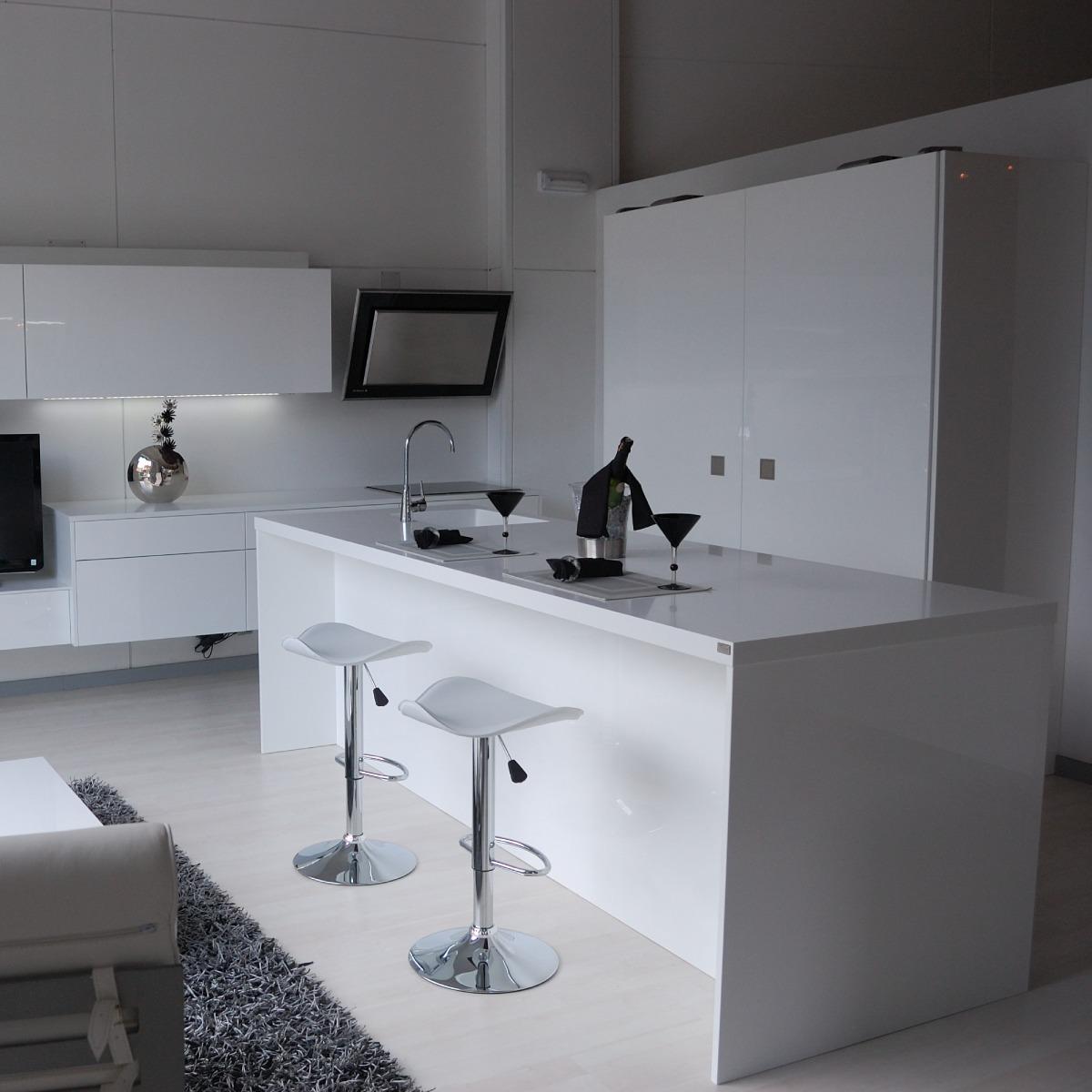 Cocina Minimalista / Muebles De Cocina / Diseño Italiano /m3