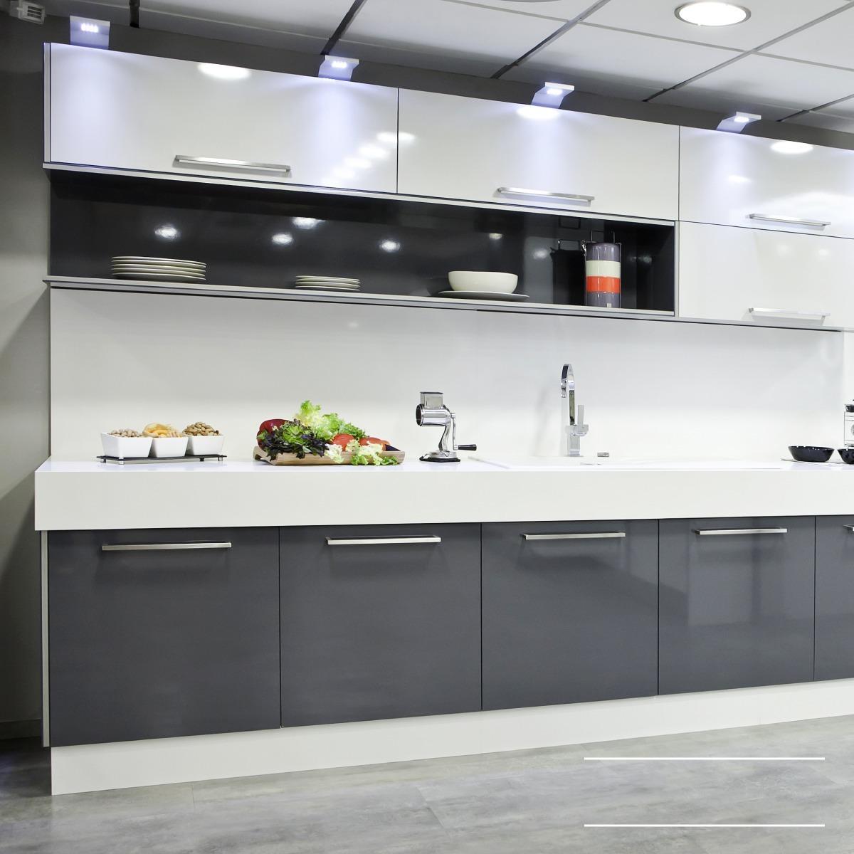 Cocina Minimalista / Muebles De Cocina / Diseño Italiano /m6 ...