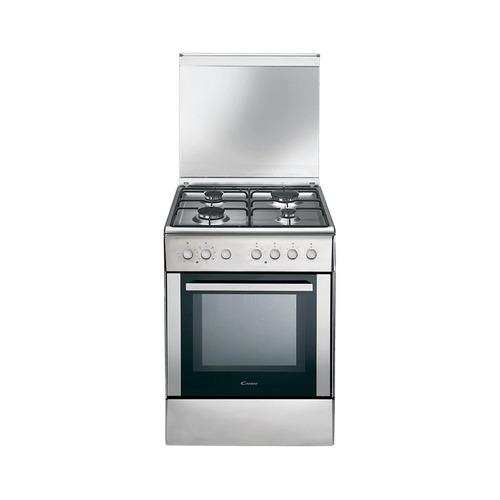 cocina mixta eléctrica gas 52 lts grill candy ccg6503px *4
