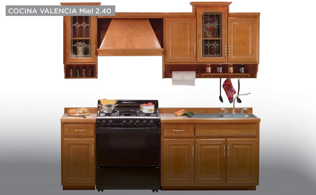 Cocina Modelo Valencia 240 - Miel Këssa Muebles - $ 27,839.00 en ...